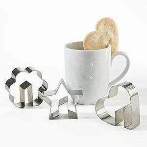 cortadores galletas para taza