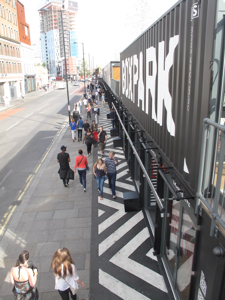Shop your heart at the BOXPARK mall