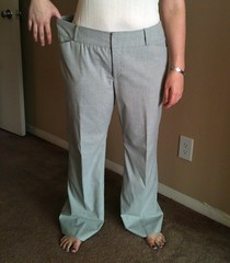 Slacks Refashion - Before