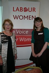 minister jan o'sullivan and sinead ahern