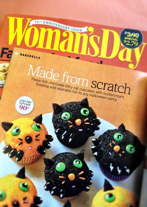 Cat Scratch Cupcakes