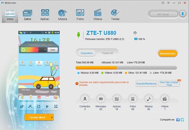 Cómo pasar Apps a la tarjeta SD de tu Android con Moborobo