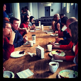 Oh hey new hire brunch! Welcome to this week's awesome new Zendeskians!