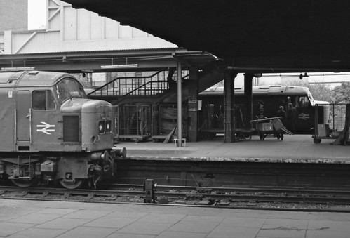 Leicester London Road Station 14th May 1977