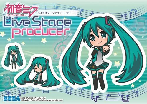 120920 - SEGA官方免費「iOS & Android」育成遊戲《初音未來 Live Stage Producer》情報公開,今年秋天正式上架! (1/7)