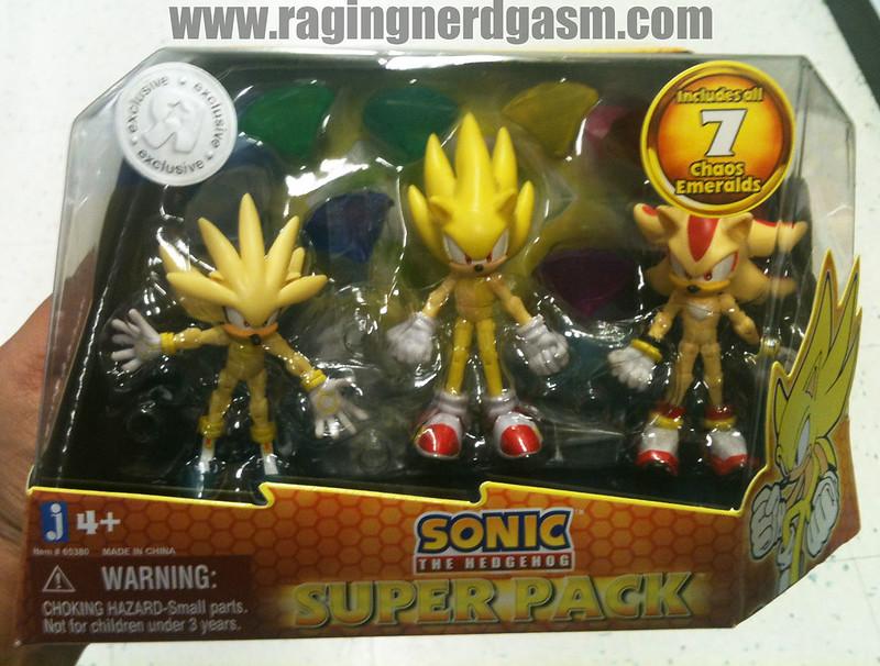Sonic The Hedgehog Figures Set by Jazwares Super Pack 001