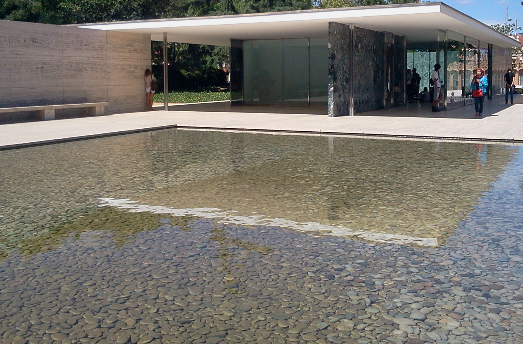 Pavelló Mies van der Rohe (Barcelona Pavillion) #9