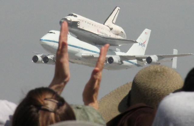 Endeavour Space Shuttle, LAX, El Segundo