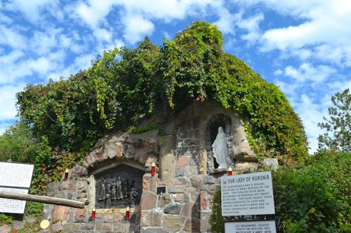Our Lady Of Huronia Grotto At Martyrs Shrine Flickr Photo Sharing