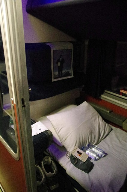 First class sleeper car - Amtrak Coast Starlight train - Emeryville to Seattle
