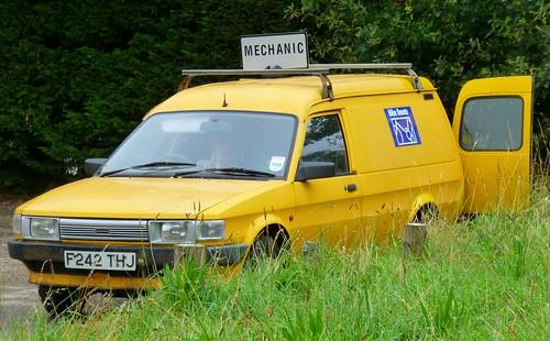 1989 Maestro Van - Mechanic Service