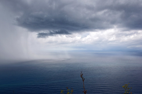 Rain Over The Sea