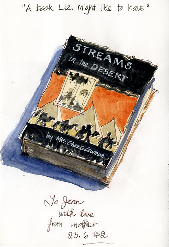 Nannas 1942 copy of Streams in the Desert by borromini bear