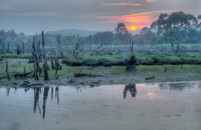 Sunset at Oyambre, Cantabria, Northern Spain (HDR)