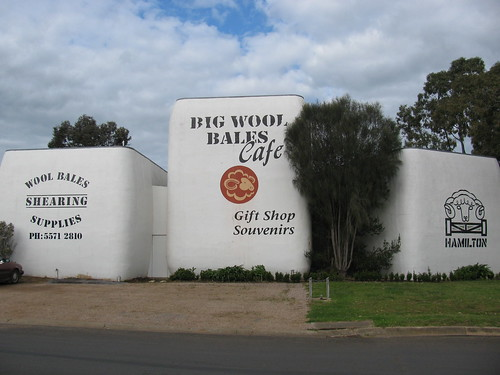The Big Wool Bales, Hamilton by holidaypointau