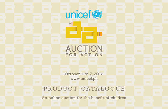 Auction for Action 2012 Catalogue