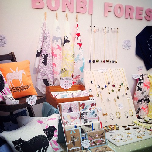 Bonbi Forest stand at Trereife House