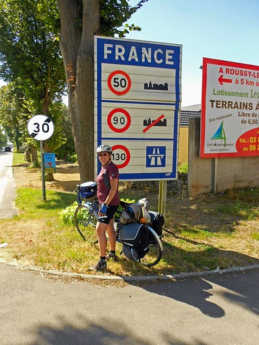 Luxembourg/France border