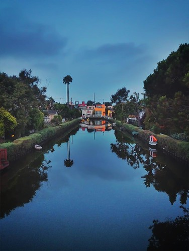 Canals Sunrise by Evidence