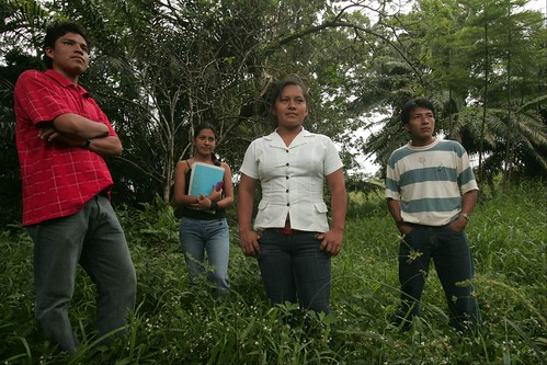 Indigenous students at UNIA