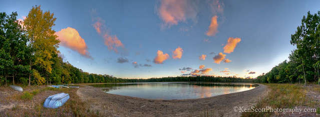 Kehl Lake ... sunset 9-26-12