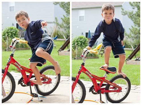 Bike Tricks Collage