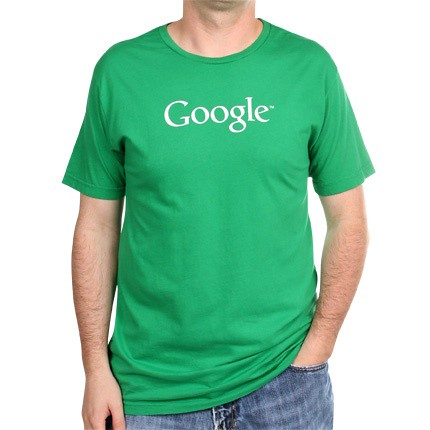 Green Google T Shirt