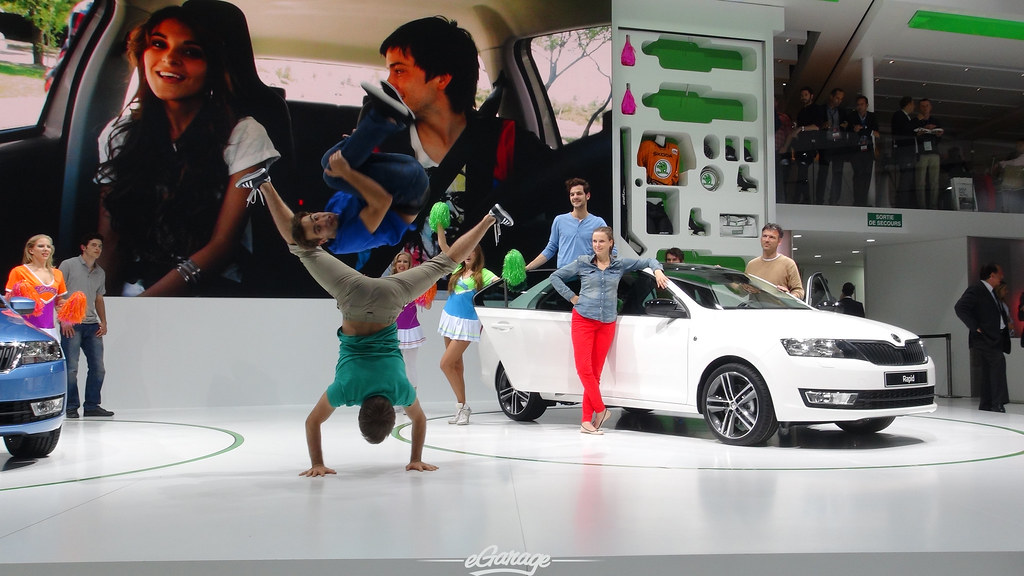 8030427367 74766b1c07 b eGarage Paris Motor Show Breakdancers