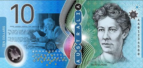 New Australian 10 banknote