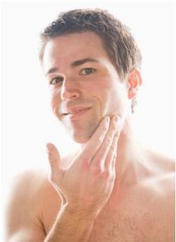 Men also needs a good skin