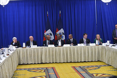 Secretary Clinton Delivers Remarks at the Haiti Partners Ministerial Meeting