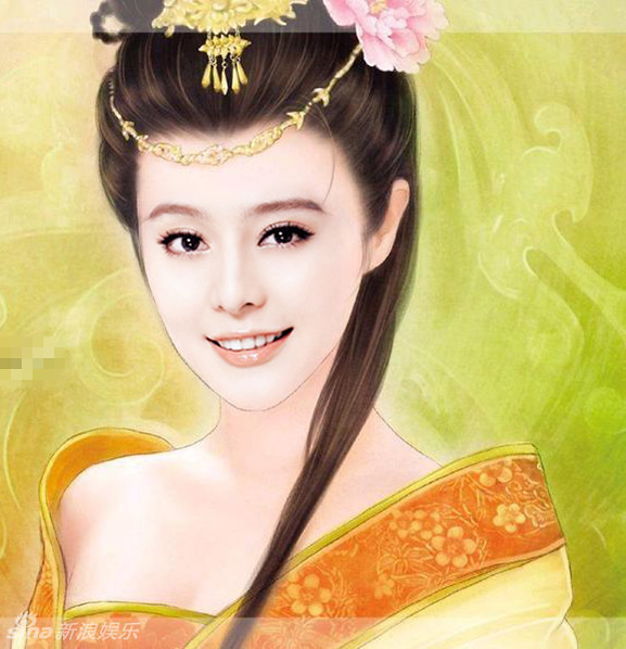 ballroom hairstyles : Guess Who? Chinese actresses become Ancient Beauties? ? A Virtual ...