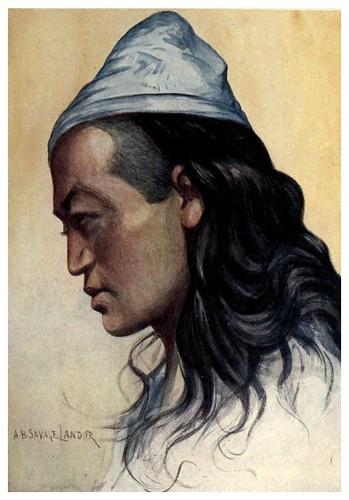 018-Un nepales Shoka-Tibet & Nepal-1905-A. H. Savage-Landor