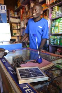Uganda Solar Lantern Jim Anderson