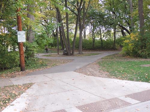 Vilas Avenue Entrance to Vilas Park