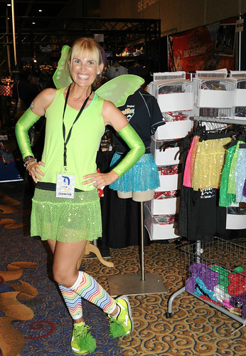 @According2Kelly as Tinkerbell