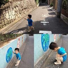 朝散歩坂道 (2012/9/30)