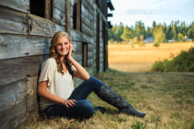 Strobist - 2013 Sequim HS Senior Ashley!