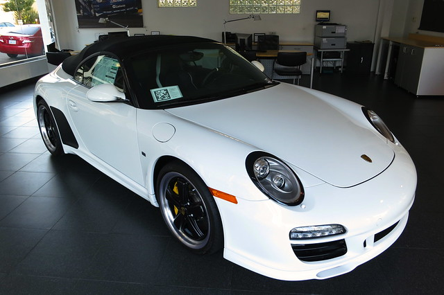 2011 porsche 911 speedster white 315 of 356 worldwide. Black Bedroom Furniture Sets. Home Design Ideas