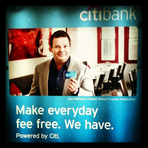 Yoda, make ads for @CitiBankAus, he does :) #sign