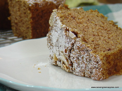Rustic Apple Cinnamon Cake