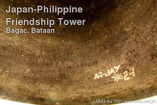 Japan-Philippine Friendship Tower Bell in Bagac, Bataan