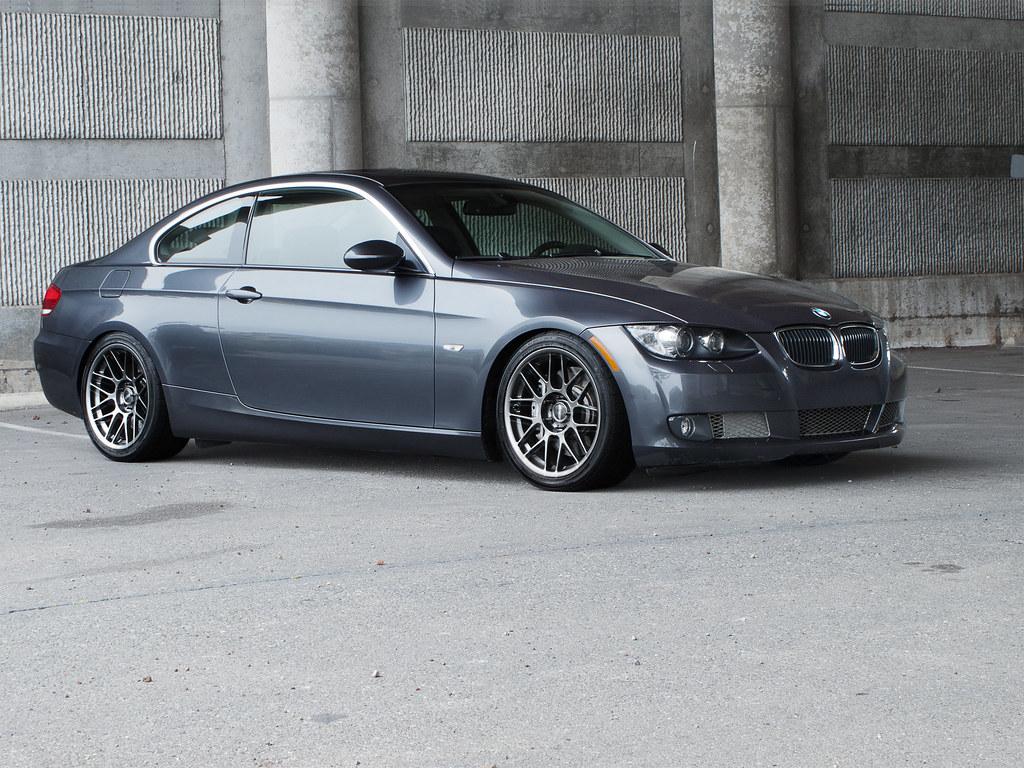 E9x 2007 BMW 335i Coupe Sparkling Gray Anthracite