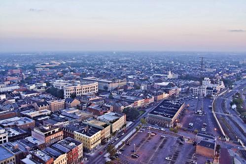 city morning urban sunrise landscape neworleans places