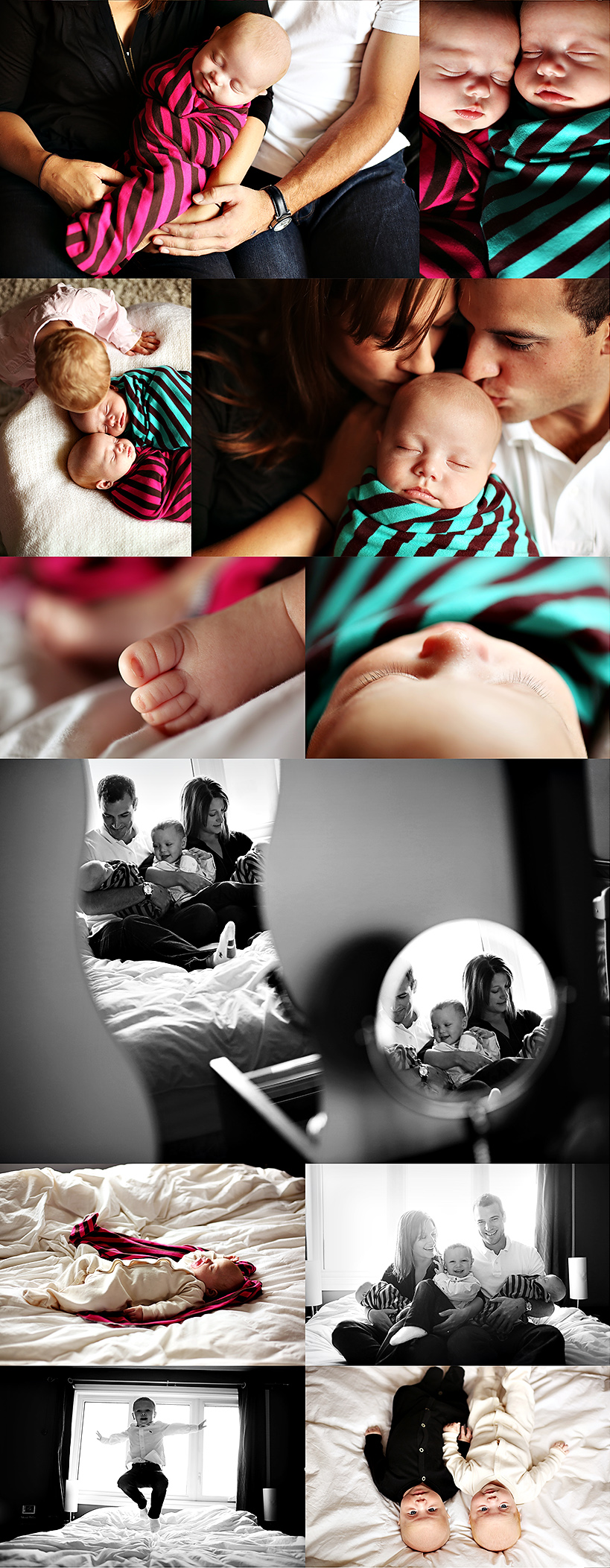 edmonton newborn twins photographer