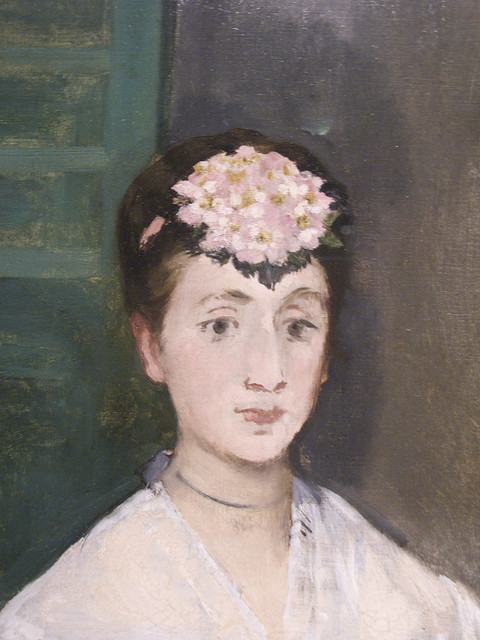 Edouard Manet Portrait of Mademoiselle Claus 1868