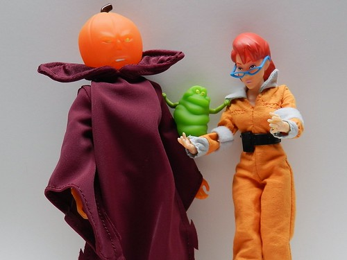 Real Ghostbusters Samhain and Janine