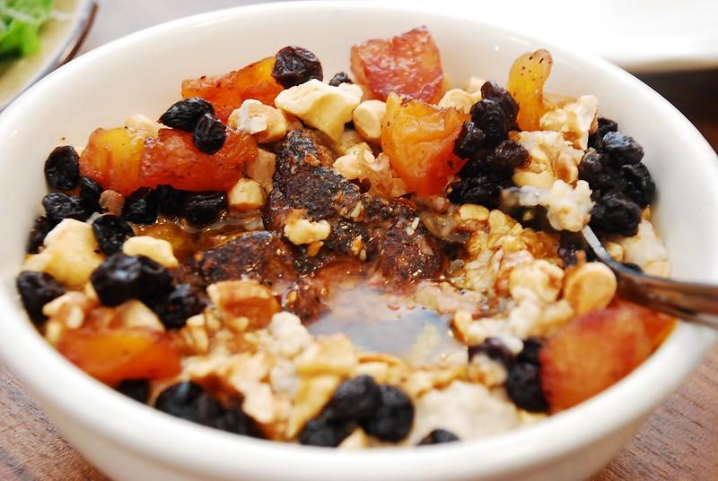 foie grois oatmeal