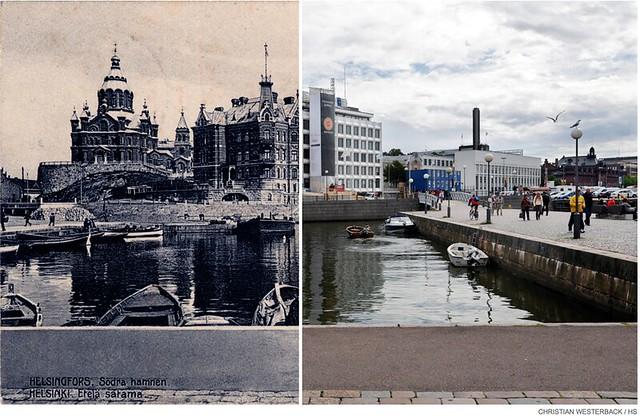 La capital de Finlandia hace muchos años, comparada con cómo es ahora