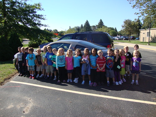 Mrs. O's car group